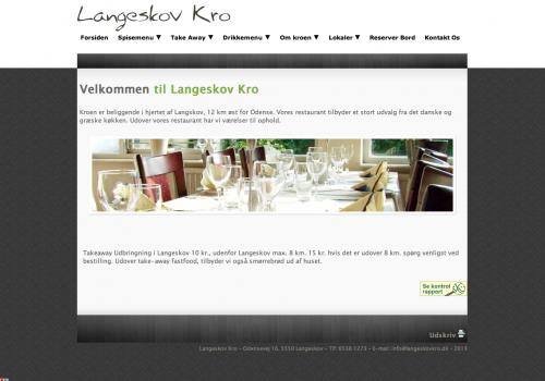 Langeskovkro